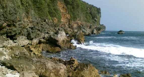 pantai grigak gunung kidul