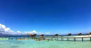 wisata panti pulau cinta di gorontalo
