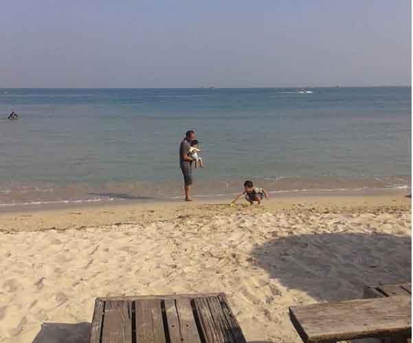 gambar pantai bandengan