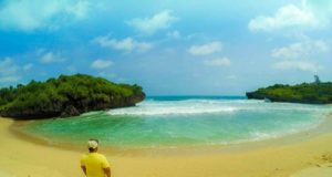 Lokasi wisata pantai Sarangan