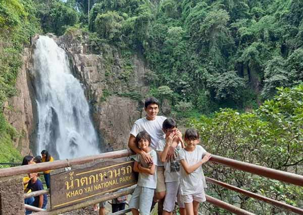 waterfall menarik di Pattaya