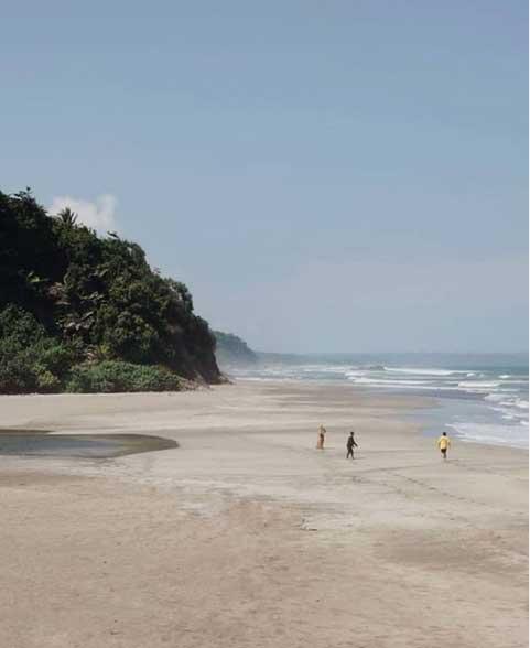 tempat wisata pantai di pangandaran